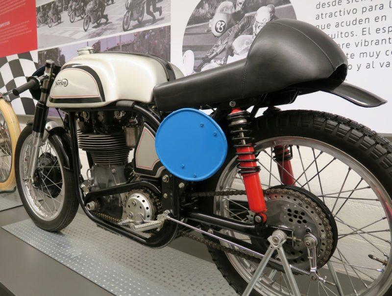 Norton Manx Museu Moto Barcelona