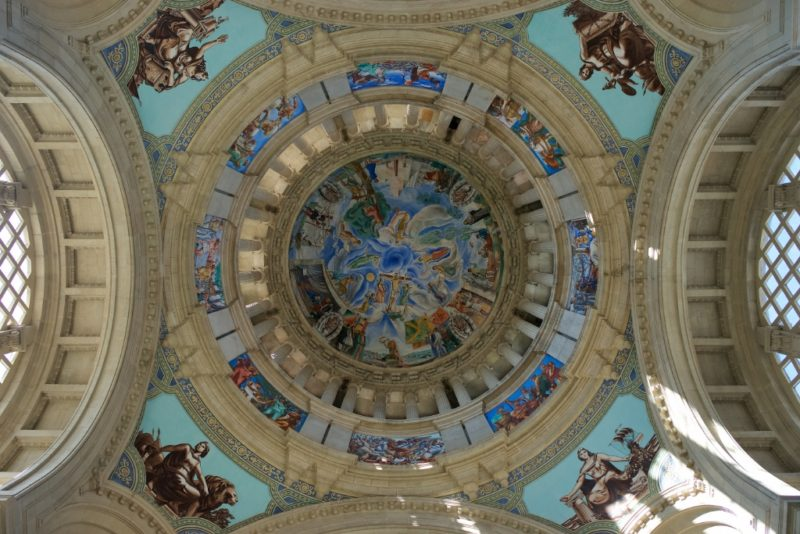 Painted Dome MNAC Barcelona
