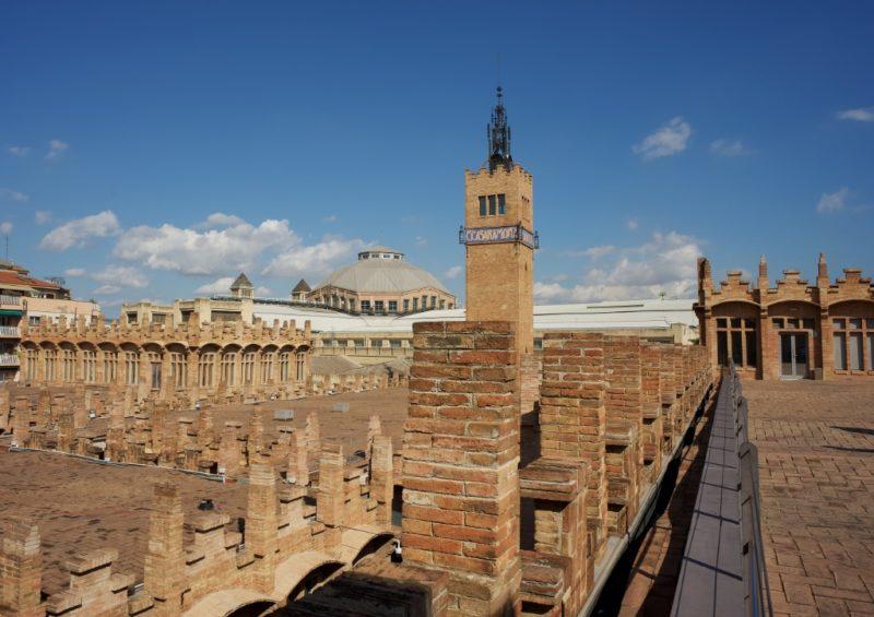 Rooftop View Caixa Forum Barcelona Spain
