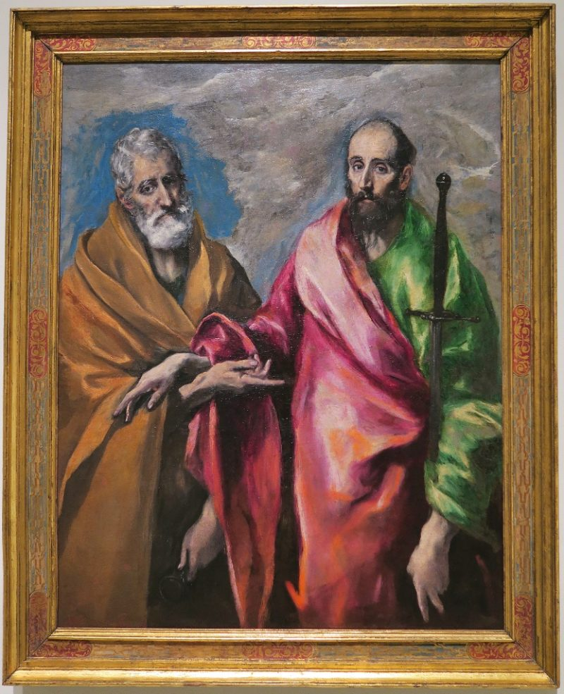 Saint Peter and Saint Paul - El Greco MNAC Barcelona