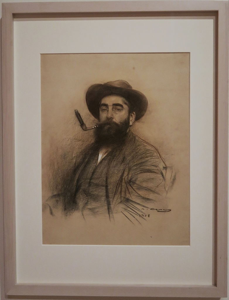 Self Portrait Ramon Casas MNAC Barcelona