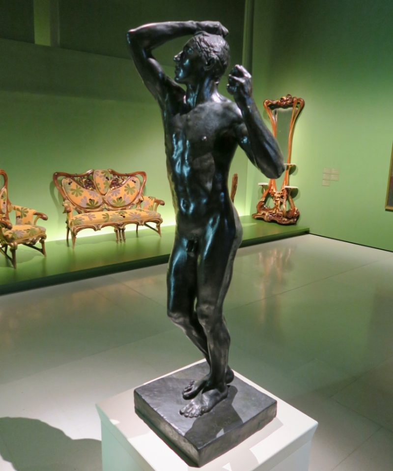 The Age of Bronze by Rodin MNAC Barcelona