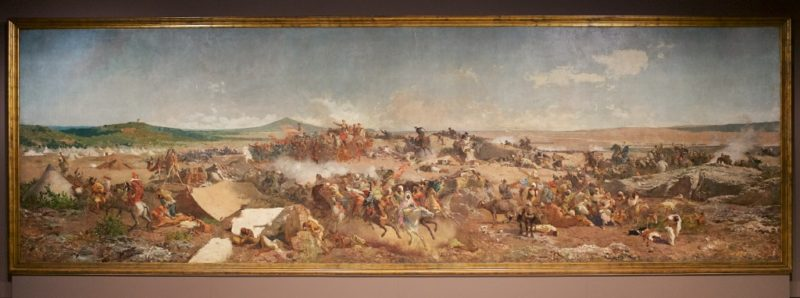 The Battle of Tetouan by Fortuny MNAC Barcelona