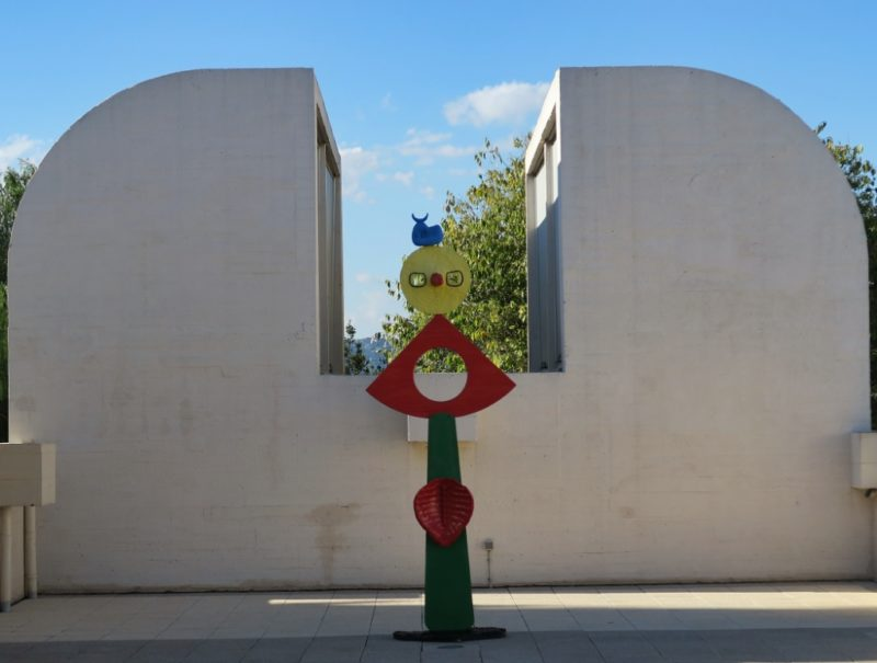 The Caress of a Bird Sculpture Fundacio Joan Miro Barcelona