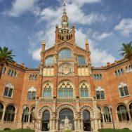 Administration Building Sant Pau Art Nouveau Site Barcelona