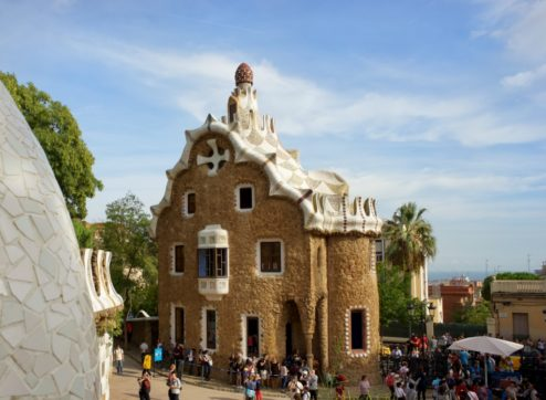 Gatekeepers Residence Park Guell Barcelona Spain