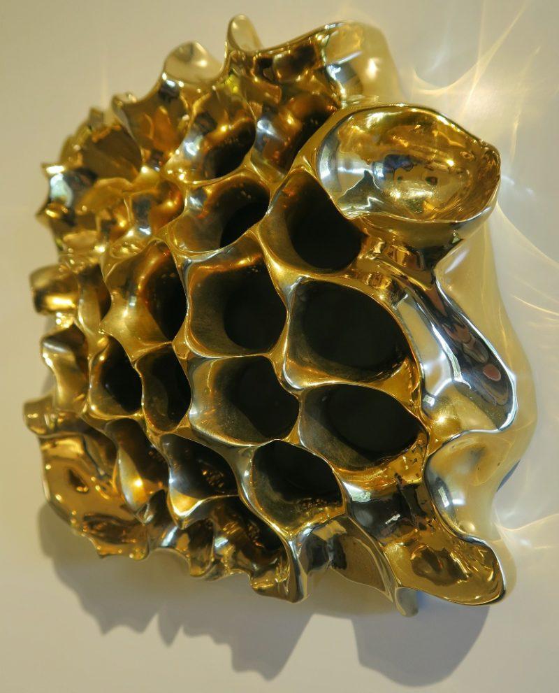 Honeycomb Peep Hole Gaudi House Museum Barcelona Spain