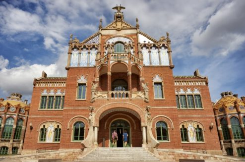 Operations Pavilion Sant Pau Art Nouveau Site Barcelona