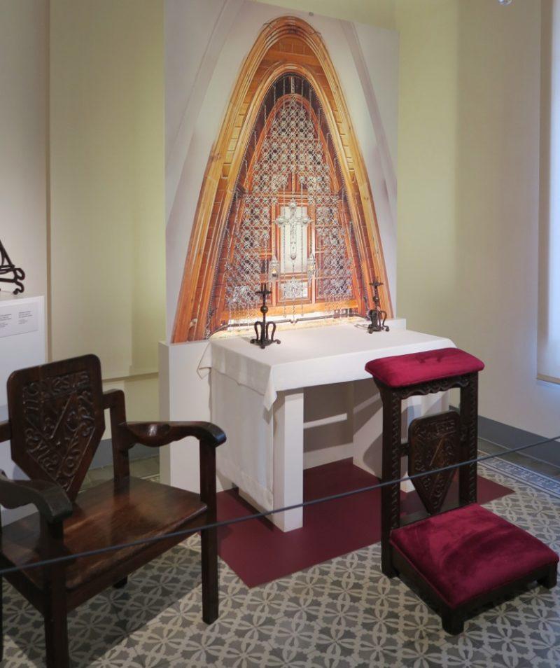 Prayer Room Gaudi House Museum Barcelona Spain