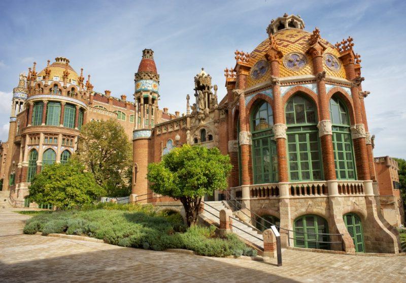 Sant Rafael Pavilion Sant Pau Art Nouveau Site Barcelona