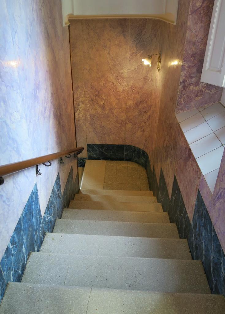 Stairway Gaudi House Museum Barcelona Spain