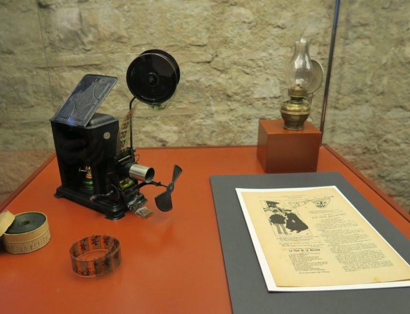 35 mm Projector Gaudi Exhibition Center Barcelona Spain