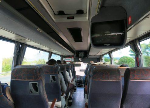 Bus ride to Cadaqués