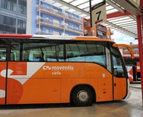 Bus to Cadaqués