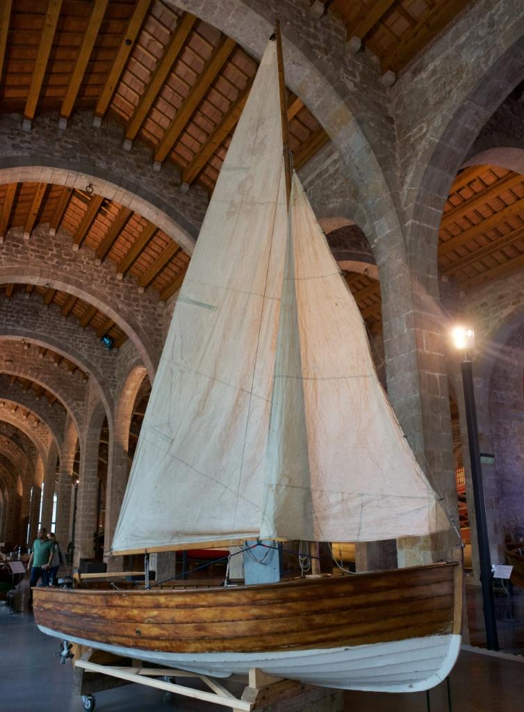 Dinghy Barcelona Maritime Museum