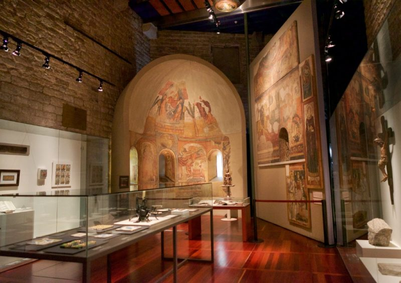 Diocesan Museum Gaudi Exhibition Center Barcelona Spain