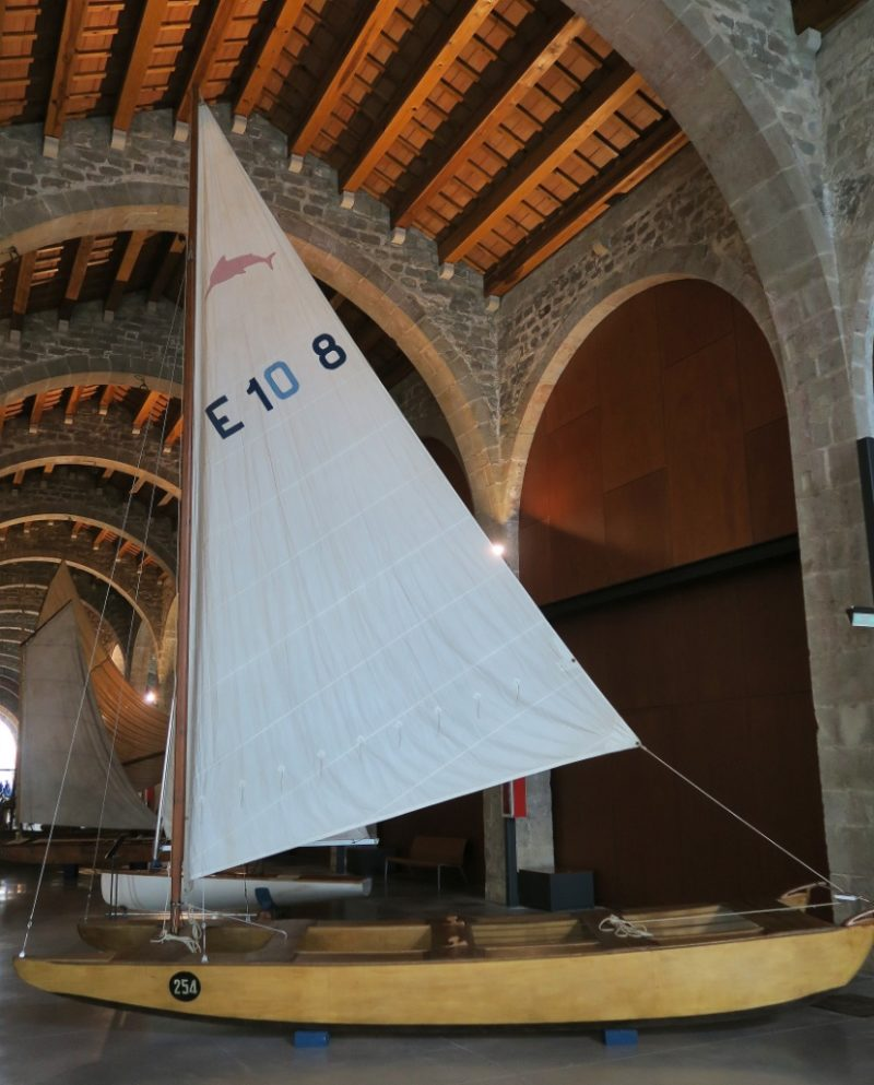 European Class Sailboat Barcelona Maritime Museum