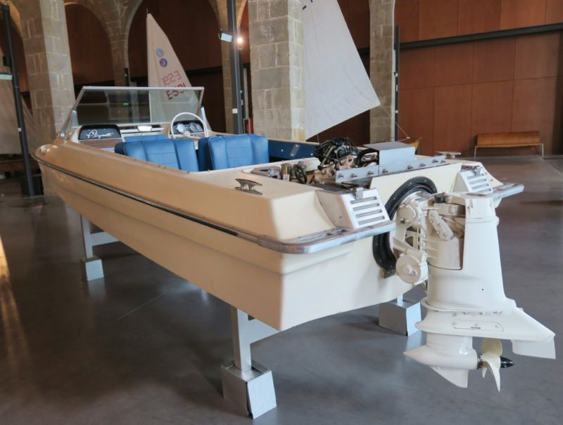 Evinrude Playmate Barcelona Maritime Museum