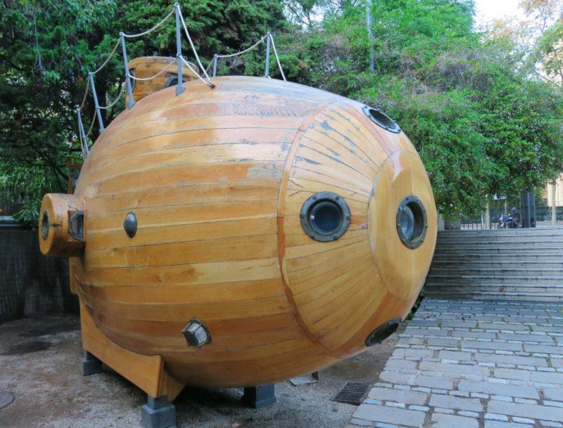 Ictineo I Submersible Barcelona Maritime Museum