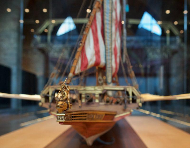Neptune Figurehead Barcelona Maritime Museum