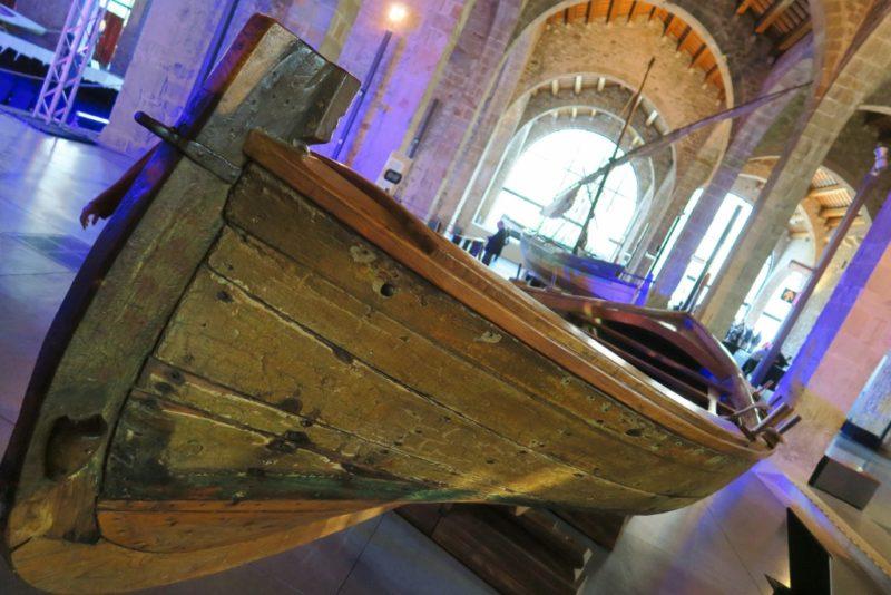 Papet Fishing Boat Barcelona Maritime Museum