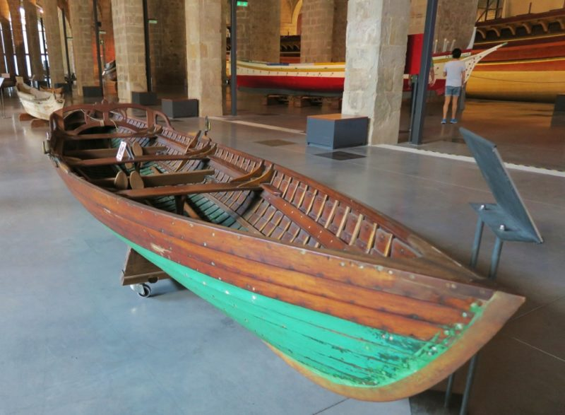 Rowboat Barcelona Maritime Museum