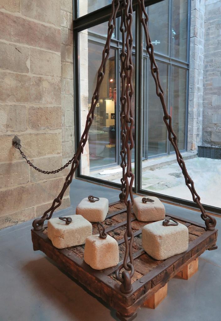 Shipyard Scales Barcelona Maritime Museum