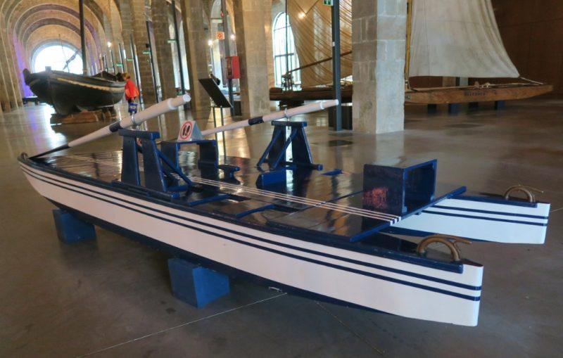 Skate Catamaran Barcelona Maritime Museum