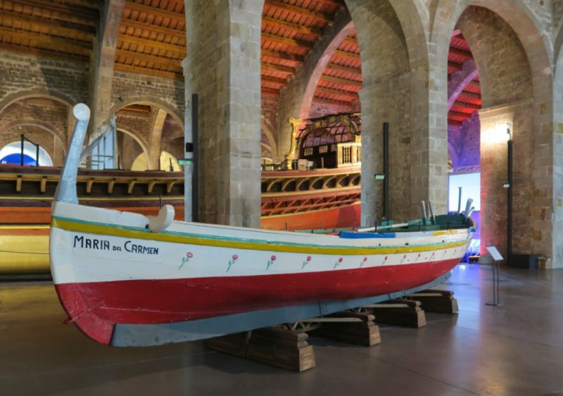 Trawler Maria del Carmen Barcelona Maritime Museum
