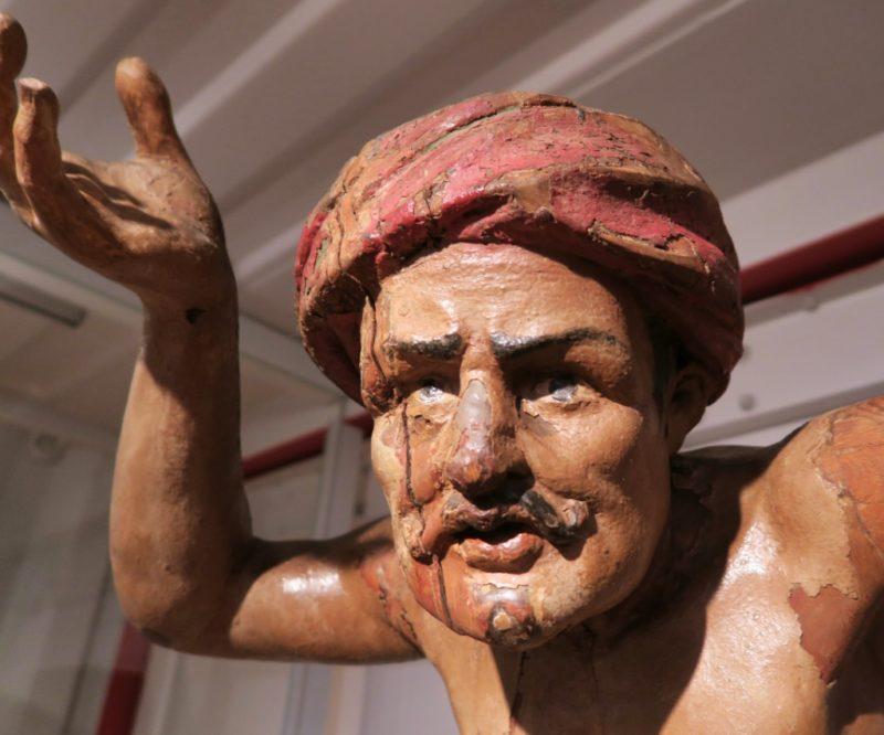 Turk Figurehead Barcelona Maritime Museum