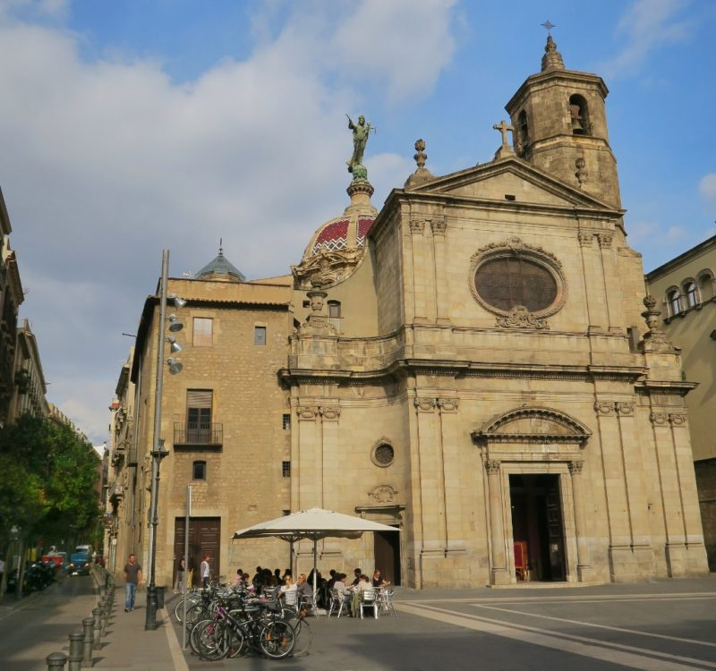 Basilica of Our Lady of Mercy Barcelona