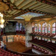 Concert Auditorium Palau de la Musica Barcelona