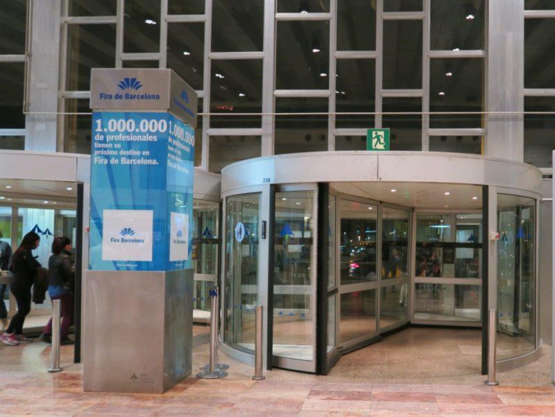 Exit to Bus Stop Barcelona El Prat Airport