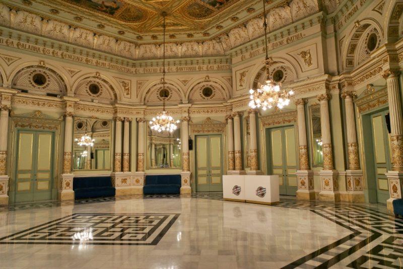 Hall of Mirrors Gran Teatre del Liceu Barcelona