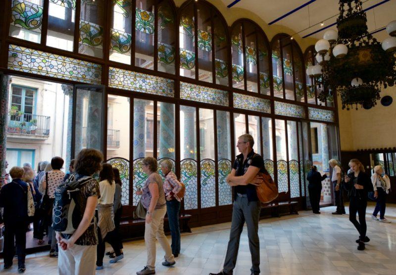 Lluis Millet Hall Palau de la Musica Barcelona