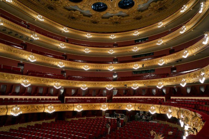 Main Hall Gran Teatre del Liceu Barcelona