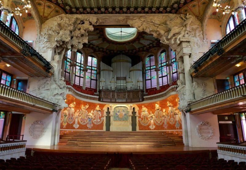 Main Stage Palau de la Musica Barcelona