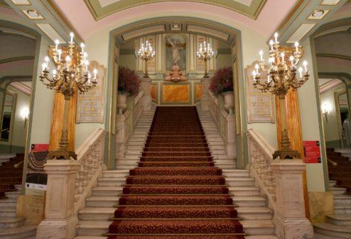 Main Stairs Gran Teatre del Liceu Barcelona