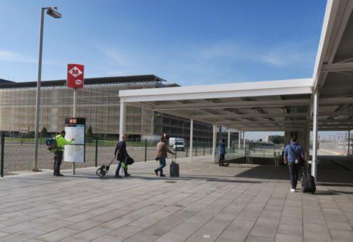 Metro Station T2 Barcelona El Prat Airport