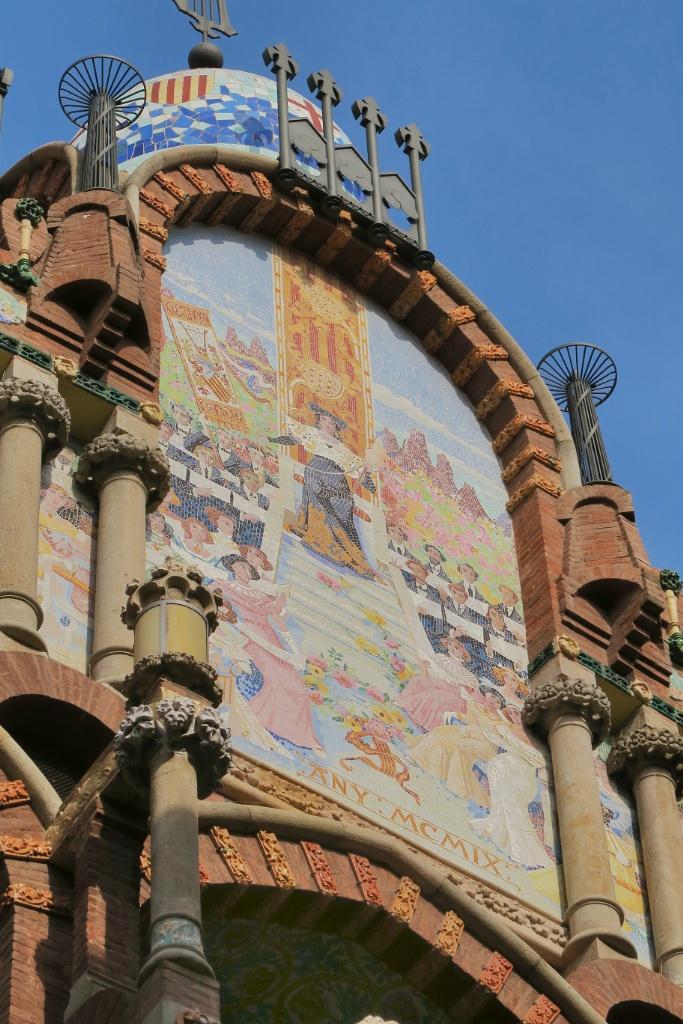 Mosaics Palau de la Musica Barcelona