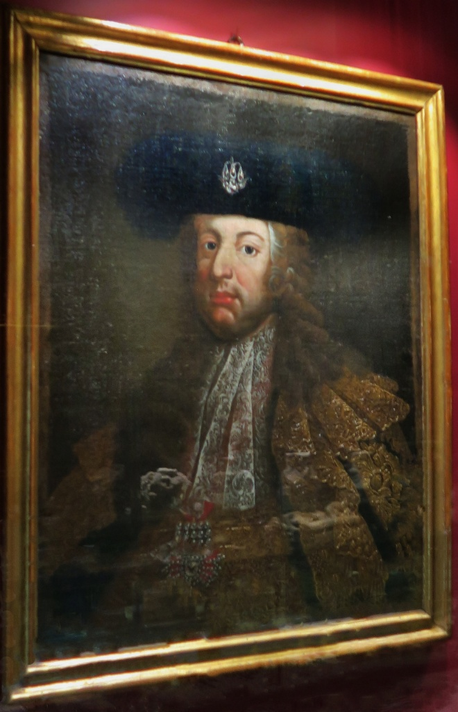 Portrait of Emperor Charles VI El Born CulturaI Center Barcelona