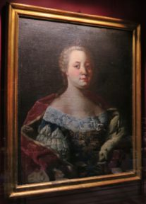 Portrait of Empress Elizabeth Christine El Born Cultural Center Barcelona