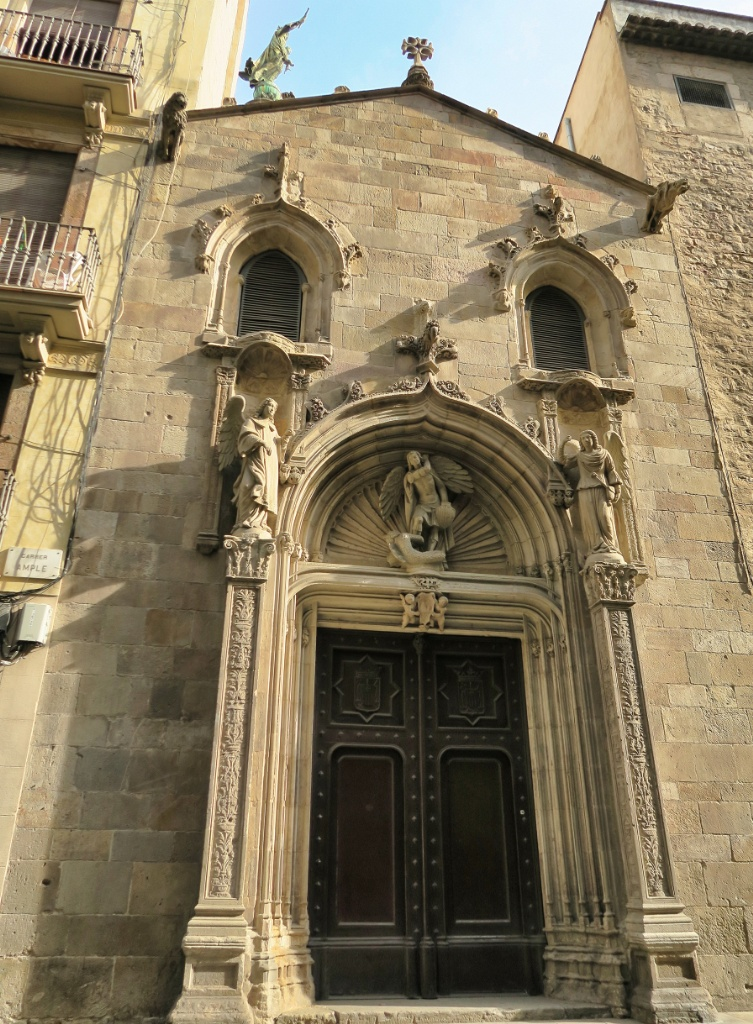 Renaissance Portal Our Lady of Mercy Barcelona