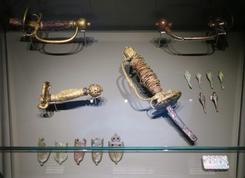 Sword Grips and Scabbard Chapes El Born Cultural Center Barcelona