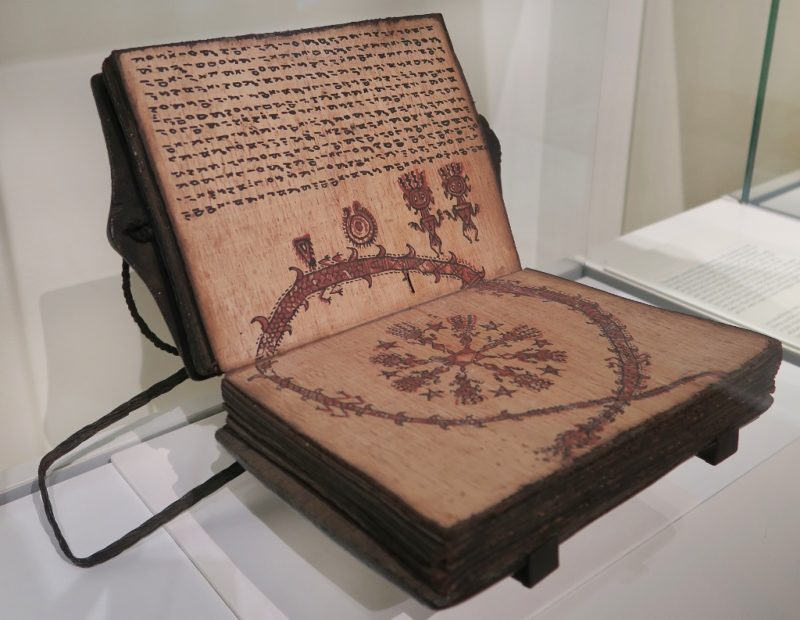 Divination Book Museum of World Cultures Barcelona