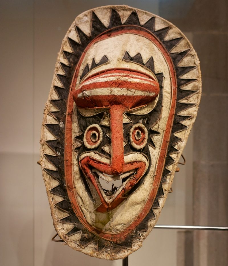 Eharo Mask Museum of World Cultures Barcelona