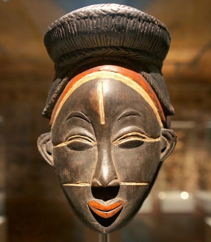 Ikawara Mask Museum of World Cultures Barcelona