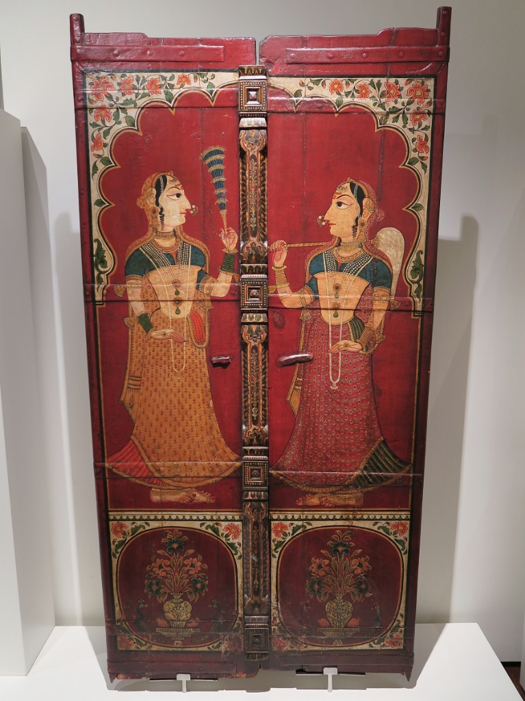 Painted Doors from South India Museum of World Cultures Barcelona