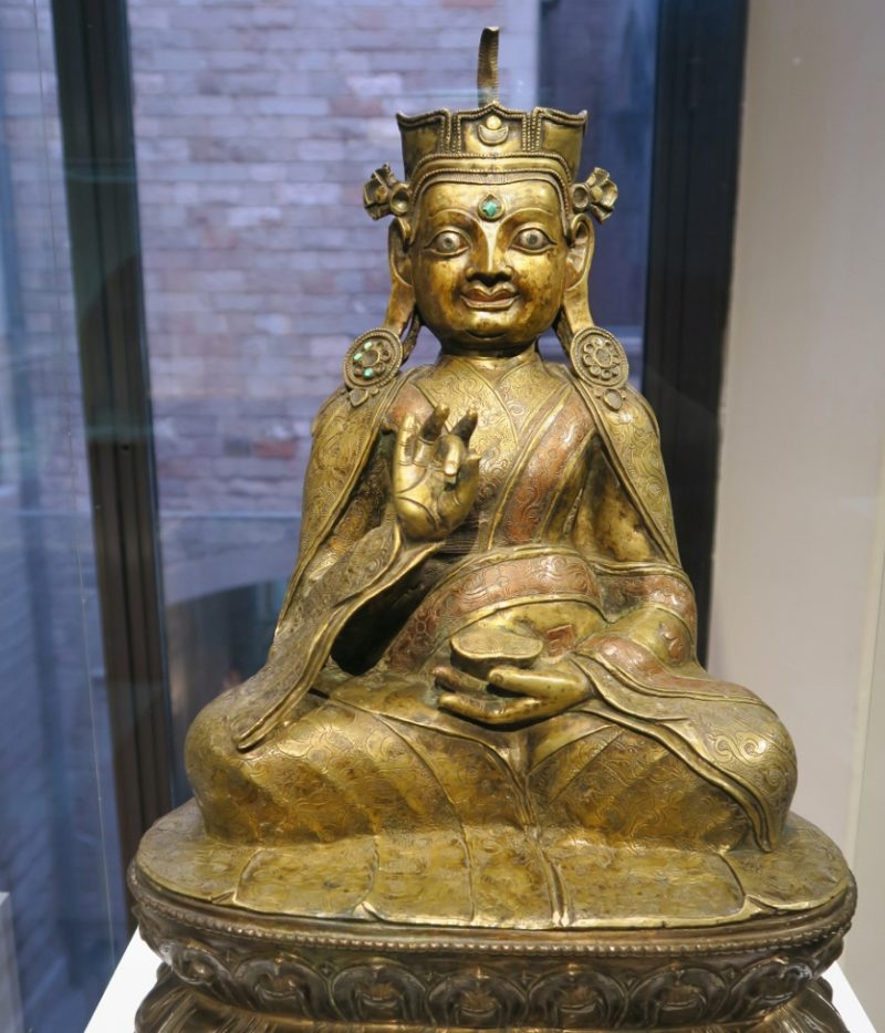 Statue of Padmasambhava Museum of World Cultures Barcelona