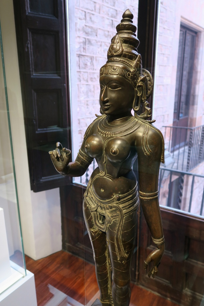 Statue of Parvati Museum of World Cultures Barcelona